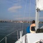Sailing through Hell Gate