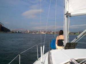 Sailing through Hell Gate