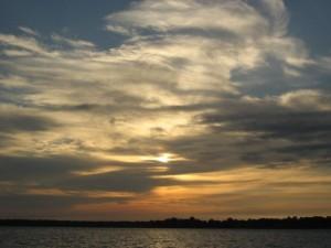 Sunrise over Long Island