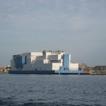 Vernon C. Bain Floating Correctional Center, an extension of Rikers Island