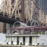 Art next to the Queensboro Bridge