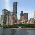 Manhatten from the East River