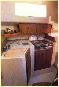 Original Galley pic from sales brochure