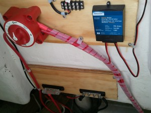 Sunforce 7A Charge Controller Installed