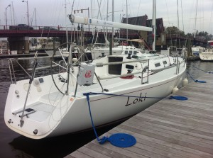 J-109 Loki at the dock in Annapolis