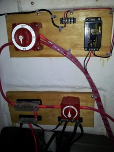 Upgraded Electricial Distribution