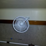 V-Berth Fan Installed