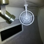 Aft Cabin Fan Installed