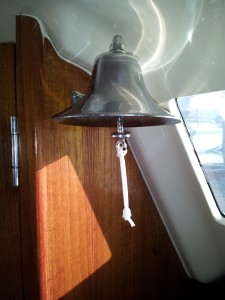 Ships Bell with bell rope